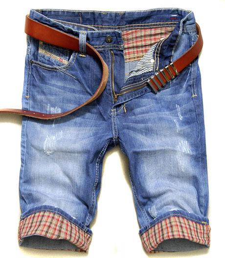 Джинсы мужские MR HUI 2801 Diesel Прямые брюки Классическая джинсовая ткань Модная одежда для отдыха
