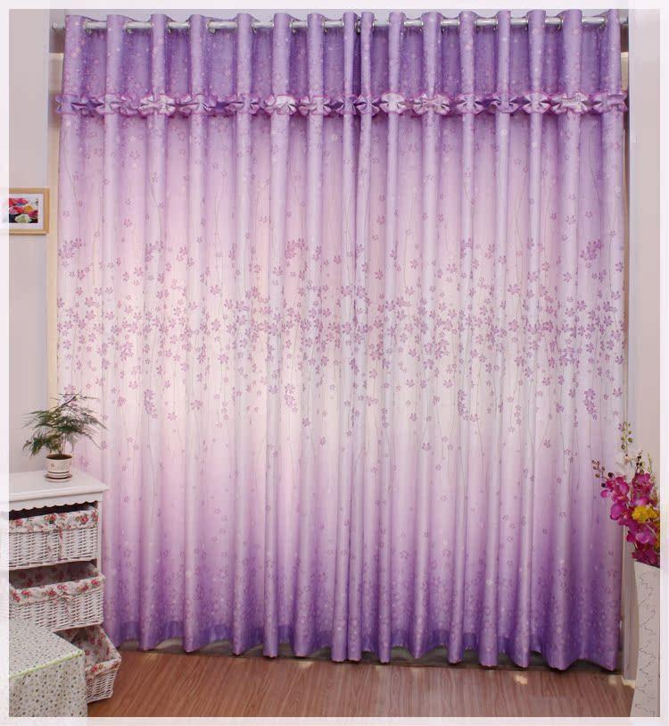 Шторы для гостиной фиолетовые фото