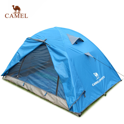 Genuine Camel outdoor tent camping tent double bunk quarters breathable waterproof camping tent