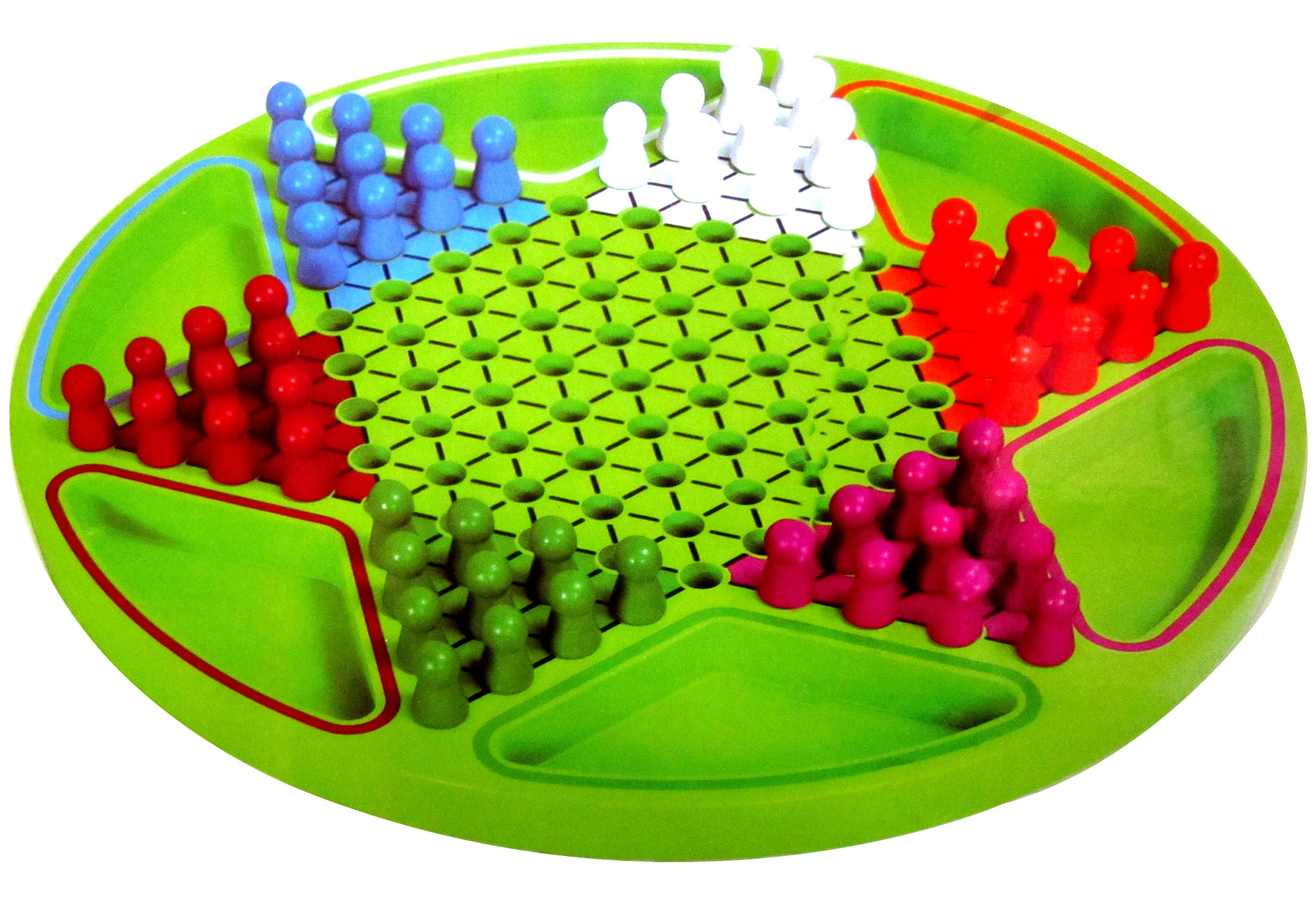 网童奇贝 精品木制六角跳棋玩具 儿童棋类玩具 木制益智玩具图片
