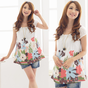 Women of Royal spring/summer maternity dresses summer Korean women short-sleeved shirt women t-shirt 12,189