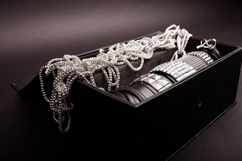 Бижутерия «CX» свинья магазин панк стиль украшения Заклепки комбинированные широкий браслет ожерелье набор ★