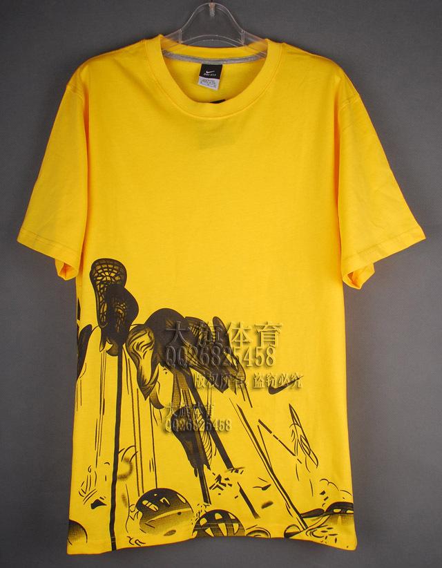 Спортивная футболка OTHER 528 2012 Nba Воротник-стойка Короткие рукава ( ≧35cm ) 100 хлопок Логотип бренда