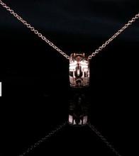 Super A Bvlgari Bvlgari recomienda collar de oro rosa de verano amor hueco