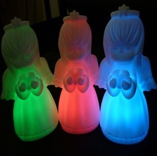 Colorful Angel Love night light led cle light wedding gifts  toys