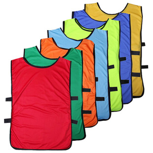 New bare board group football training vest Rainbow cut polyester soccer shirt, sport fight clothing