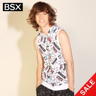 Giordano BSXT shirts men's snap up limited edition summer MINI CHE-vest 04021001