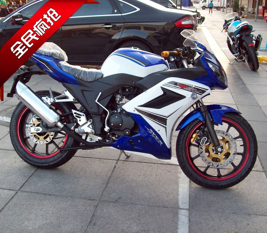 2013新款摩托车跑车_厂家直销 新款摩托车跑车地平线款 200和250机高配液晶表含发票