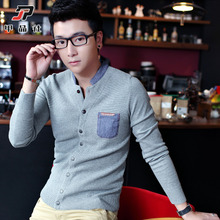 New urban sweater coat winter fashion leisure men's clothing sweaters tide collar sweater sweater