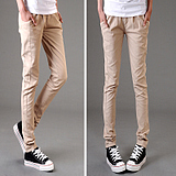 2012 new code Emile verhaeren spring summer Korean radish pencil pants feet pants women candy color loose casual pants c