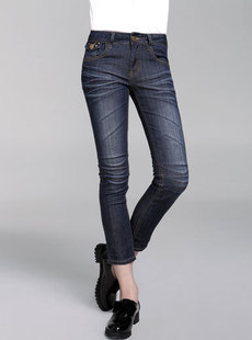 Dream Basha/ing2ing 2012 new skinny feet of women's jeans 103,312,206