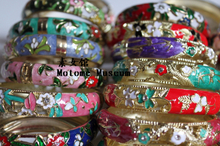 National Museum] [Motome hollow wind Cloisonne Bangles (5 from wholesale can mix batch)