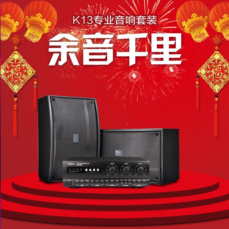 Набор для настройки звука Shinco  K13 Ktv OK Ktv Ktv