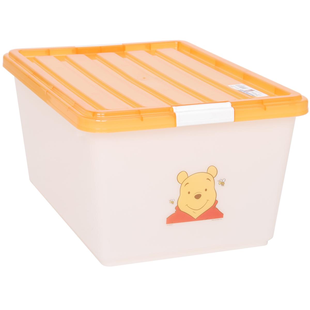 爱丽思disney迪士尼维尼儿童环保树脂收纳盒整理储物箱pcb38 包邮