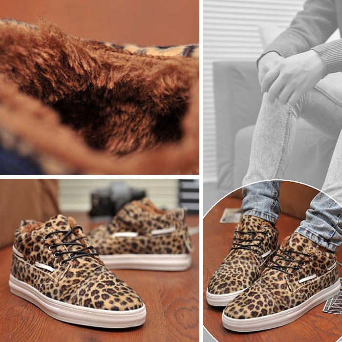 Ботинки мужские Asi Для отдыха Круглый носок Двухслойная кожа Нубук (шершавая кожа) Зима