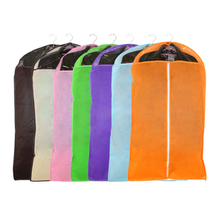 Non-woven clothing dust cover/dust-proof transparent suit bag hanging bags/suits/suit storage bags