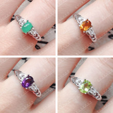 South Korea han edition act the role ofing is tasted Retro fashion high quality emerald ring sweet ShanZuan ring Ring wholesale women