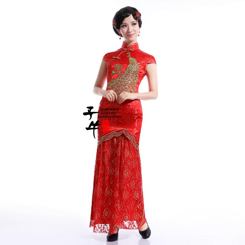 Платье Ципао  qp020
