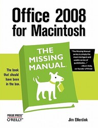 【预订】Office 2008 for Macintosh: The Missing Manual