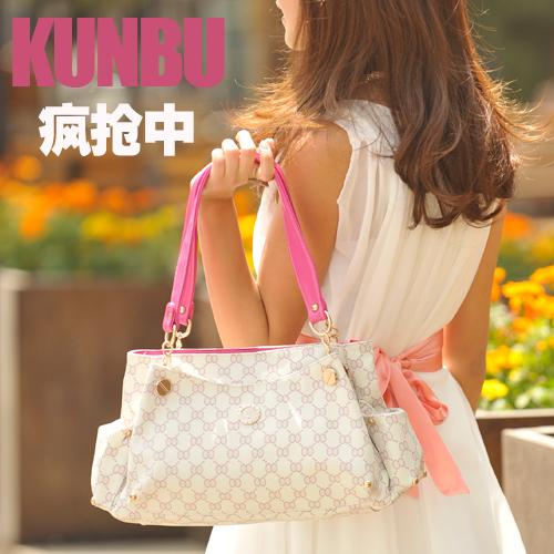 【疯抢 0利润】KUNBU2012夏季新款时尚百搭女包包单肩手提热销