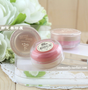 Skin food/skinFood mini blush rose fruit oil cream 3-election with puff 2012.03