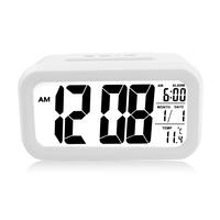 富达电子闹钟 懒人静音聪明钟 家用夜光创意礼品 学生贪睡好钟表