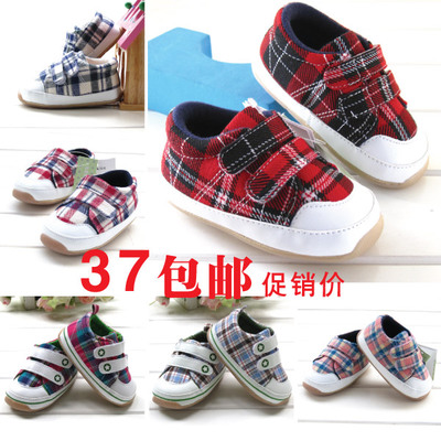 Free shippingSpring explosion models British style soft-soled baby shoes, toddler shoes soft bottom non-slip rubber-soled baby toddler shoes