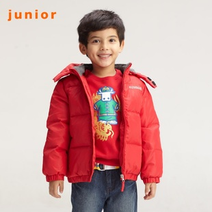 Hot recommend Giordano jacket boys fun cute caused by even  hood down jacket 03071516
