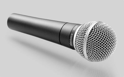 Shure / Shure SM58-LC Professional vocal dynamic microphone legendary vocal microphone genuine mail