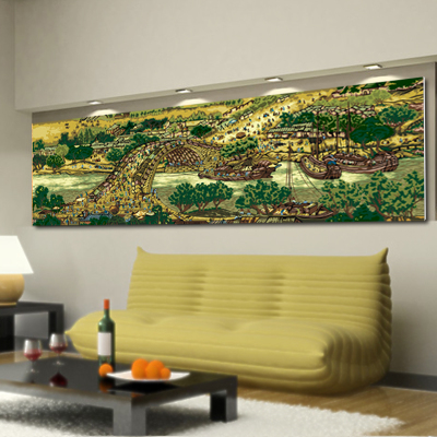 Special diy digital painting the living room wall a couple of hand-painted decorative painting painting meal significantly