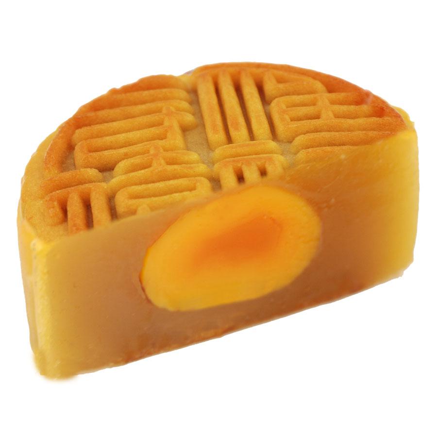 地方特产_盛园祥 中秋蛋黄莲蓉广式月饼 80克 舌尖上的美食 传统地方特产