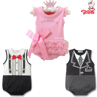Baby clothes I was Princess lace up dress tie/tie gentleman Delta baby dress/Po