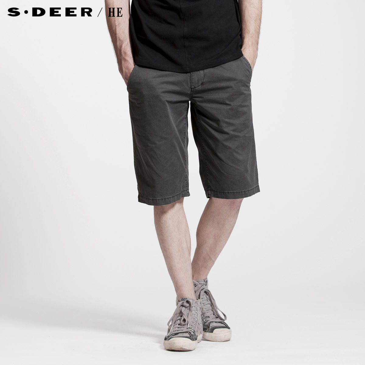 Повседневные брюки S.deer 2270728 Sdeerhe Прямой Хлопок без добавок