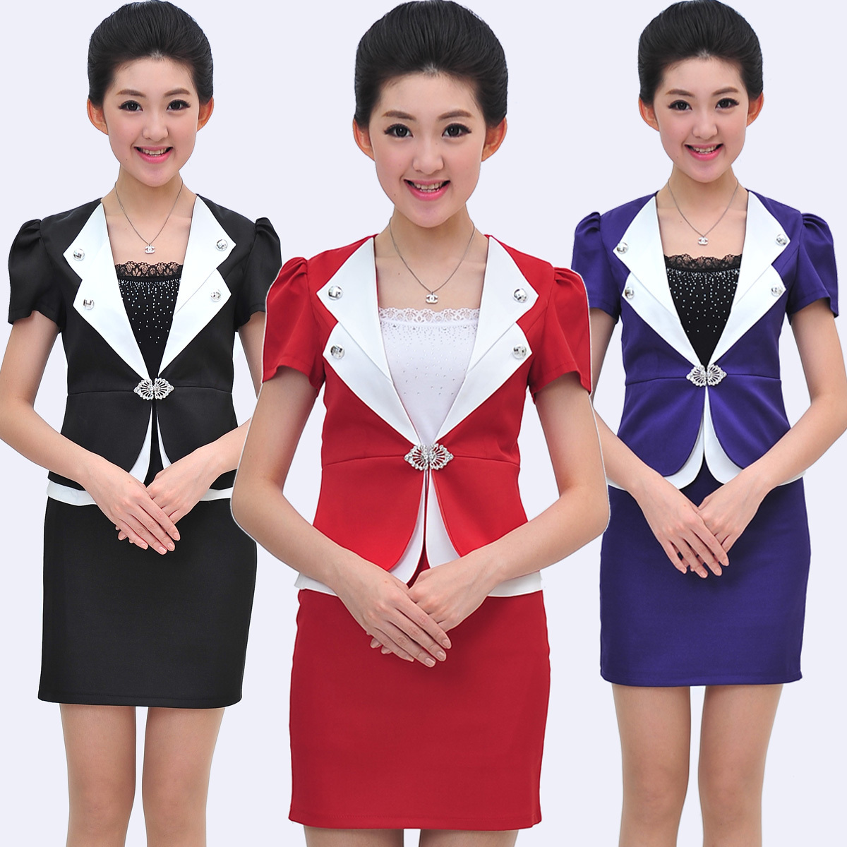Hotel Front Desk Uniforms For Women