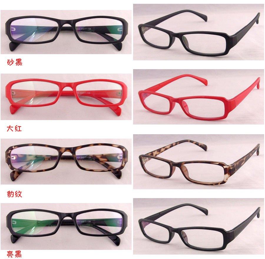 Очки Леопардовым принтом Мода Классический матовый черный кадр очки кадр украшения» могут быть установлены с линз»