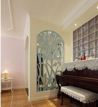镂空板欧式装修 电视背景墙 仿古门窗 玄关 隔断 花格 密度板雕花