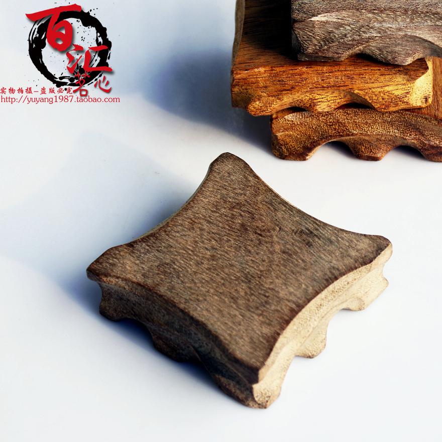 Чайные принадлежности Деревянная резьба лоток горшок, горшок держатель, подушки, чайник чая горшок сочетание Спайк
