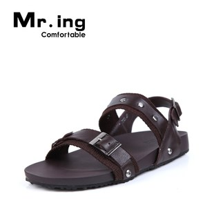 Mr.ing Han Bing's fashion trends spring-summer men's shoes men's soft sole daily leisure Sandals T321