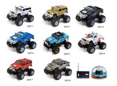 Free shipping Mini Remote Control Car Micro Innovation Wall Charging Hummer off-road remote control car toy car 2207
