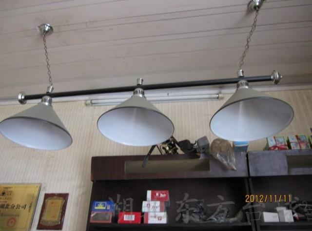 Аксессуары для бильярда Бильярдная комната для штатива лампа | Хубэй Восток Бильярд Бильярд Бильярдные загорается лампа |