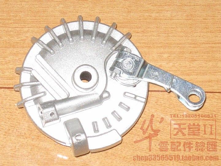 Тормоз для скутеров Small sand drum brake assembly