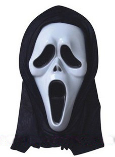Halloween Masks Halloween masks party party mask masks off  cuff screaming ghost skull mask