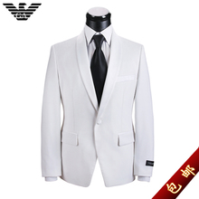 slim suits suit men suit korean wedding groom dress men's business casual suit Thumbnail