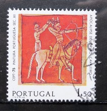 Stamps, Portugal, the Portuguese folk painting