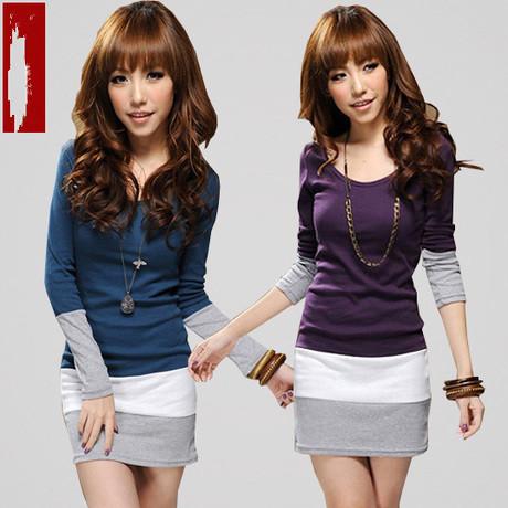 Женское платье Korean clothing show 8611 2013 Весна 2013 Разные