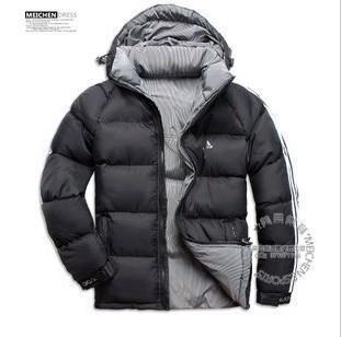 Пуховик мужской Adidas 1187 2012adidas Средней длины (длина одежды равна длине рукава+-3 см)