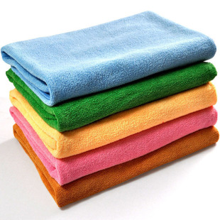 Three golden crowns Microfiber towels soft, Super absorbent towels multi-purpose towels in foreign trade 250g