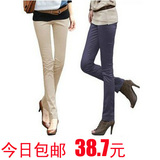 New 2012 ladies ' spring summer Korean thin codes feet pencil thin woman pants trousers casual trousers