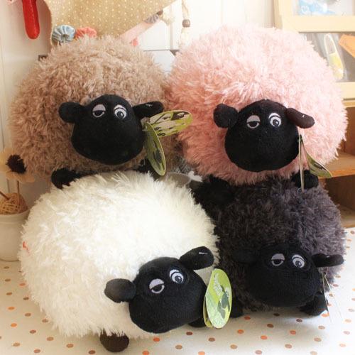 nici刺绣肖恩羊毛绒玩具羊布娃娃公仔生日礼品居家装饰礼物玩偶