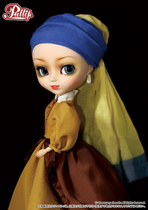 pullip P-093 Girl with a Pearl Earring 2013年4月 现货